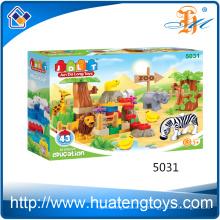 2016 China Spielzeug Tier Haus Kinder DIY Backstein Bausteine Spielzeug