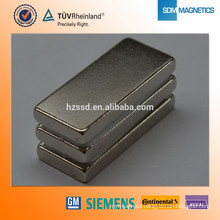 Zinc Nickel Epoxy Coating Customized N52 Rare Earth magnet
