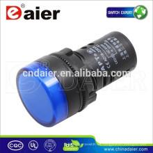 Lámpara de luz indicadora incandescente de señal ad16-22ds
