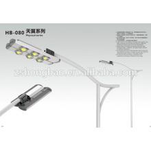 Proveedor lente cuerpo de aluminio led luz de calle control remoto