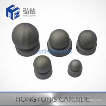 Bola de carboneto de tungstênio não aterrada e assento