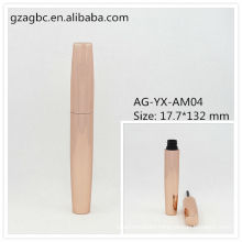 Elegant&Empty Aluminum Round Mascara Tube AG-YX-AM04, AGPM Cosmetic Packaging , Custom Colors/Logo