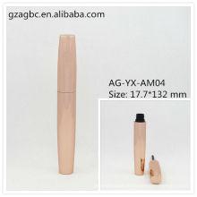 Элегантный & пустой алюминиевые круглые тушь трубки AG-YX-AM04, AGPM косметической упаковки, логотип цвета