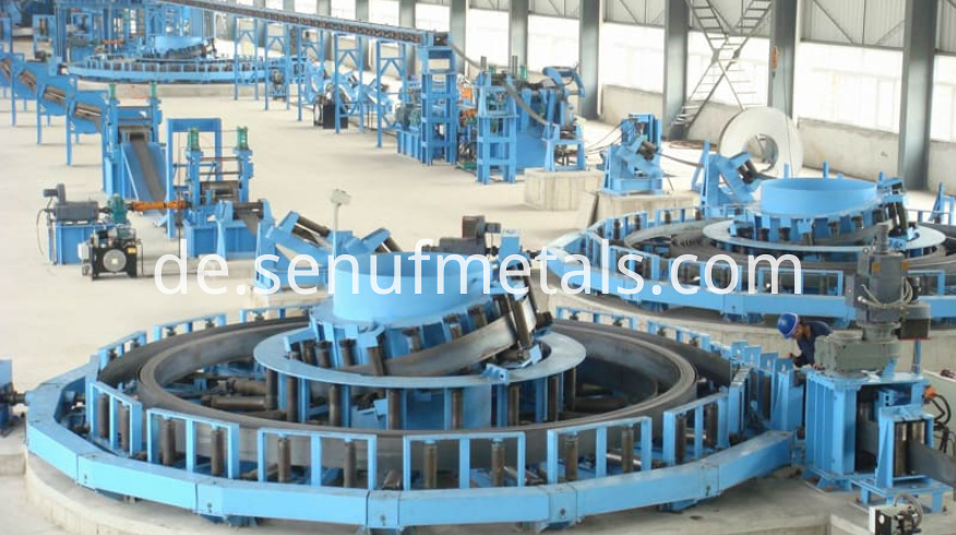 High Frequency Erw Direct Tube Mill Line 16