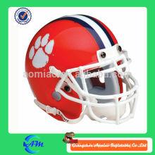 Casco de fútbol inflable casco rojo para la publicidad
