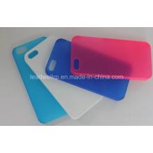 Semi Transparente Handy-Gehäuse Prototyp in Silikon-Form