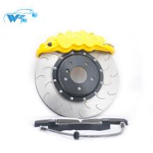 Reequipamento Melhorar as peças do carro de desempenho de frenagem para o Golf MK7 WT8520 6 pote kit de freio grande pinça de freio 370 * 36mm