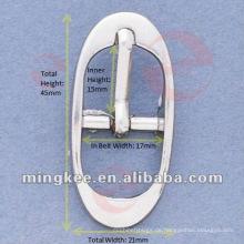 Silberner Gürtel / Taschenschnalle (M16-240A)