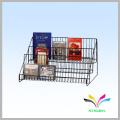 Customized Department Store Floor Standing Metal DVD CD Display Racks