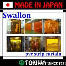 Swallon Co., Ltd. curtain with soundproof, pesticide and cold protection functions. Made in Japan (curtain wall door seal strip)