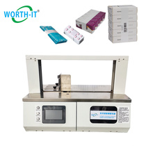 Stainless Steel Material Wk-20 Automatic Banding Machine Small Mini Paper Opp Banding Machine For Paper