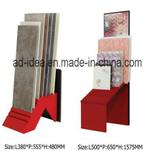 Classical Red Exhibition Stand for Tile Display
