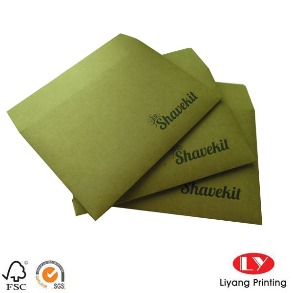 Rigid Brown kraft paper envelope2