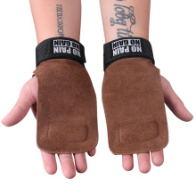 High Quality Grip Belt Cowhide Palm Protector Fitness Non-Slip Wear-Resistant Wristband