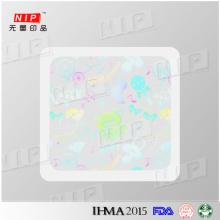 Preço de adesivos de holograma aceitável com alta qualidade