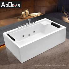 Aokeliya single person  tub indoor  whirlpool bathtub massage bath tub