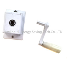 Rolling Blind Accessories/Roller Shutter Components, Gear Box for Steel Wire