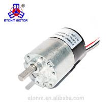 Motor de caja de cambios pequeña sin escobillas para electrodomésticos