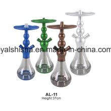Neue Heiße Verkaufende Chicha EL Badia Aluminium Celeste Shisha Shisha