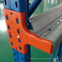 Unidad de almacenamiento de almacenamiento en bastidor de paleta de acero para estantería