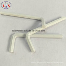 L Type Wrench/Allen Key/Hex Wrench with White Coated