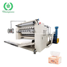 6 Line Fluffy V Fold Hand Towel and Facial Tissue Paper Making Machine