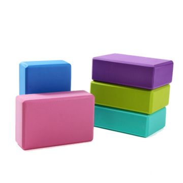 Custom Eco Friendly High Density  Foam Eva Fitness Tool Exercise Workout Eva Yoga Block