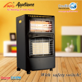 Gas Electric Heater With ODS anti-tilt switch