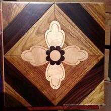 Dekorations-Material-Mosaik-Holz-Bodenbelag-Kunst-Parkett ausgeführter Bodenbelag