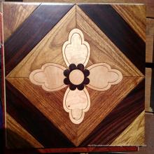 O revestimento material de madeira da arte do revestimento do mosaico material da decoração projetou o revestimento