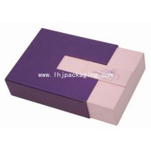 Caixa de gaveta de empacotamento de presente de luxo para o chocolate