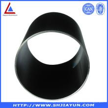 Tubos de Fabricação de Alumínio Anodizado Preto