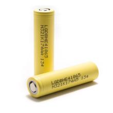 E-Zigarettenbatterie 3.7V 2500mAh Lghe4 18650 Lithium-Batterie 20A Entladung