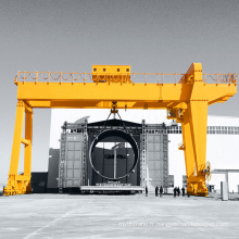 Straddle Carrier, Portique Container Crane