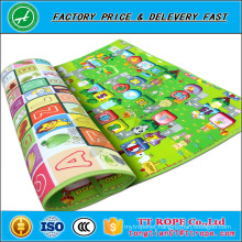 Baby kid toddler play mat double sides pattern