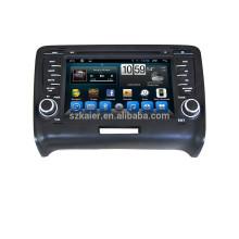 Android 4.4 5.1 pour Audi TT multimédia / système de navigation GPS dvd voiture avec GPS BT Wifi