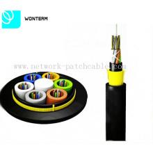 Câble fibre optique ADSS Câble autonettoyant entièrement-diététique avec fil d'aramide