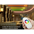 2.4G Touch Screen RGBW LED sistem kawalan