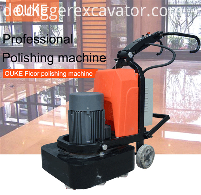 12 Heads Concrete Grinder Grinding Machine