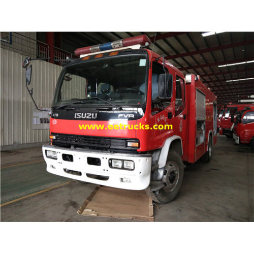 Camiones ISUZU 6000 Litros Diecast Fire Fighting