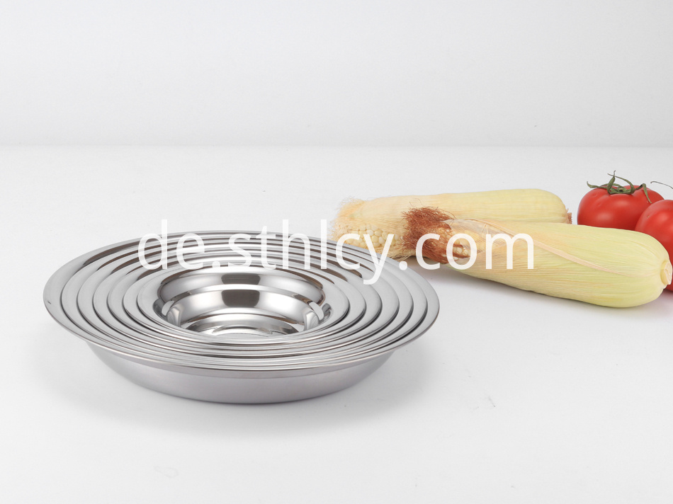 Stainless Steel Dish Plate