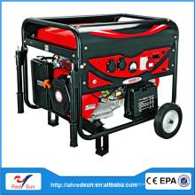 5KW gasoline et950 small dc diesel generator 220V