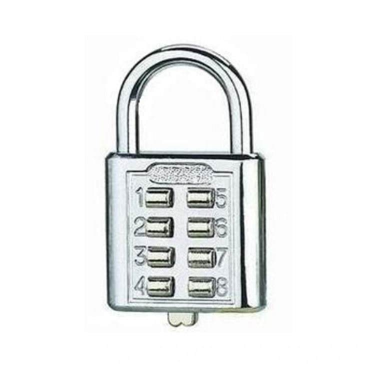Mini Travel Luggage Button Padlock
