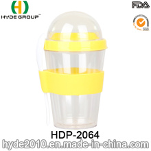 Double Wall Plastic Salad Shaker Cup (HDP-2064)