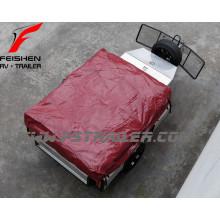Caravane de sol souple avec cuisine en acier inoxydable sur mesure