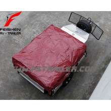 soft floor camper trailer with stainless steel kitchen customized