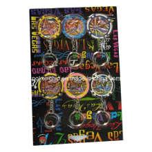 6PCS Keychain Chip in der Blasen-Karte (SY-S02)