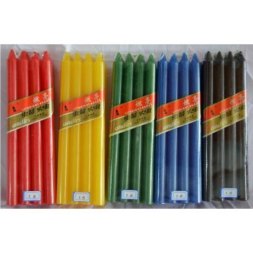 Farbige Haushalt Zubehör für die Kerzenherstellung