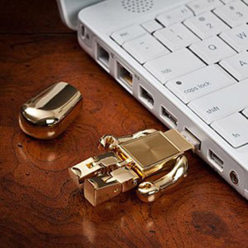 Windows Mini Robot Metal USB-Stick
