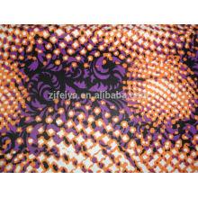 POLIÉSTER WAX West African Impreso Damasco Tela Shadda Moda Guinea Brocade Ropa Textiles baratos